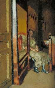 顺序 手工油畫 | L`Armoire 一个 塔丝, 1924 通过 Walter Richard Sickert (1860-1942, Germany) | WahooArt.com