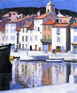 Francis Campbell Boileau Cadell - 海港,卡西斯